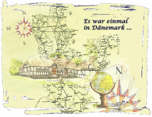 Dänische Antiquitäten - Landkarte